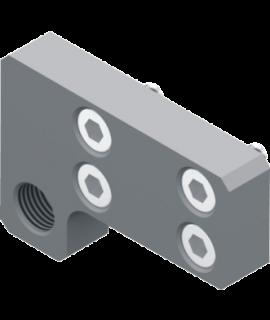 6600.8.SR - Montageblock für Stoßdämpfer / Hubeinstellung hinten