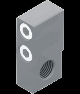 6600.8.SU - Montageblock für Stoßdämpfer / Hubeinstellung vorne