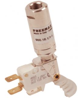 """900.18.1/1-1 - Druckschalter - P/E G1/8"""" Anschluss für Kabelschuh - 0,5 - 1 bar"""