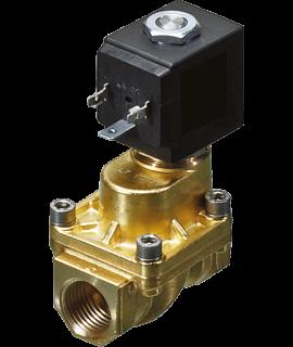 2/2 Wege-Ventil N.C. für Fluide - 24VDC - 50/60 Hz - G 1/2