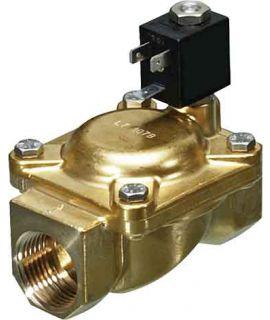 2/2 Wege-Ventil N.C. für Fluide - 24VDC - 50/60 Hz - G 1 1/4