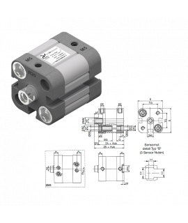 1544.20.10.01.4 - ECOMPACT-Zylinder